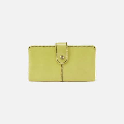 Marshal Lemongrass Leather Wallet