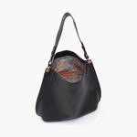 Black Moondance Hobo Hobo  Velvet Pebbled Leather