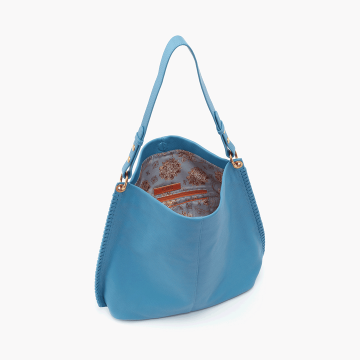 Dusty Blue Moondance Hobo  Hobo  Velvet Pebbled Leather