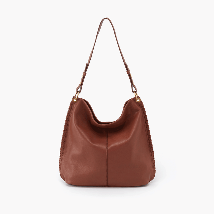 Moondance Brown Leather Hobo Style