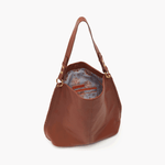 Toffee Moondance Hobo Hobo  Velvet Pebbled Leather