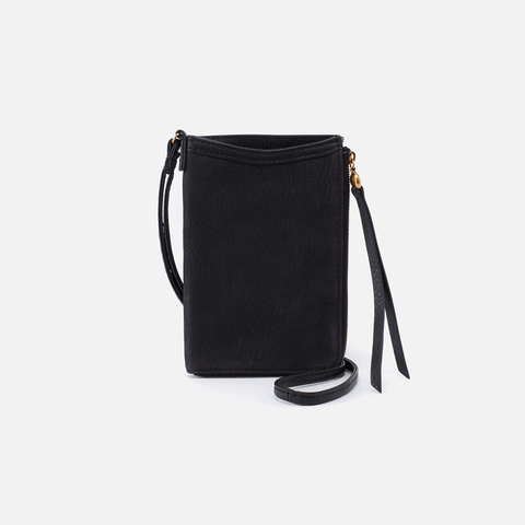 Moxie Black Leather Small Crossbody