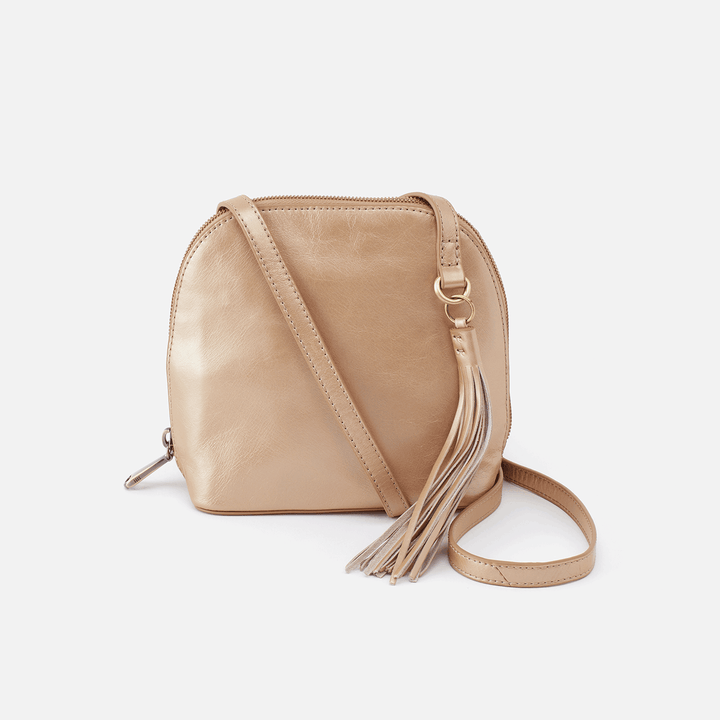 Nash Gold Leather Crossbody