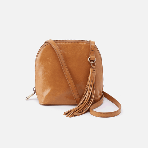 Nash Cognac Brown Leather Small Crossbody