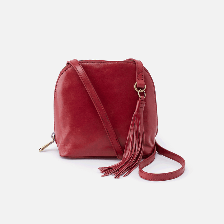 Nash Red Leather Small Crossbody