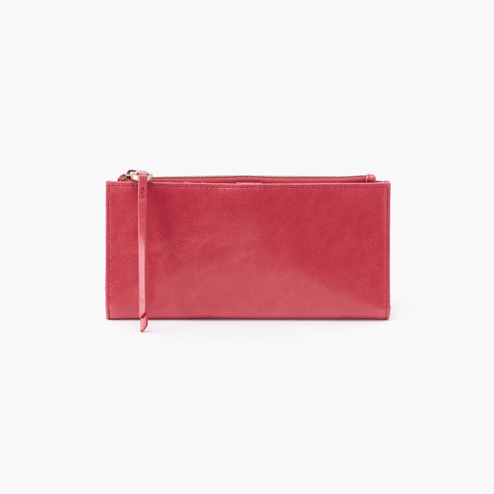 Ode Pink Leather Large Wallet