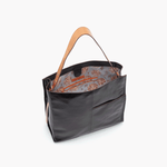 Park Black Leather Shoulder Bag