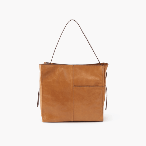 Park Cognac Brown Leather Shoulder Bag