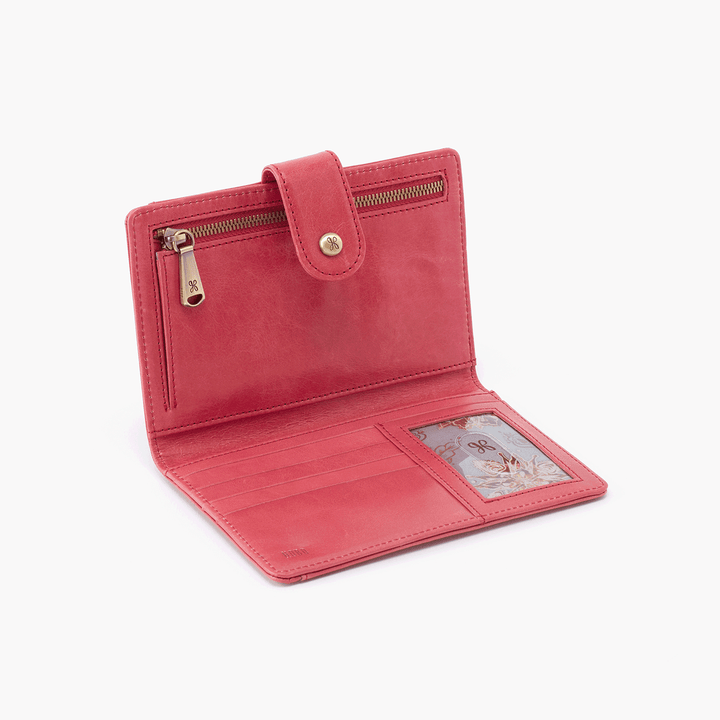 Pax Blossom Vintage Leather Passport Wallet