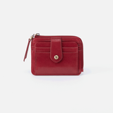 Poco Red Leather Credit Card Wallet
