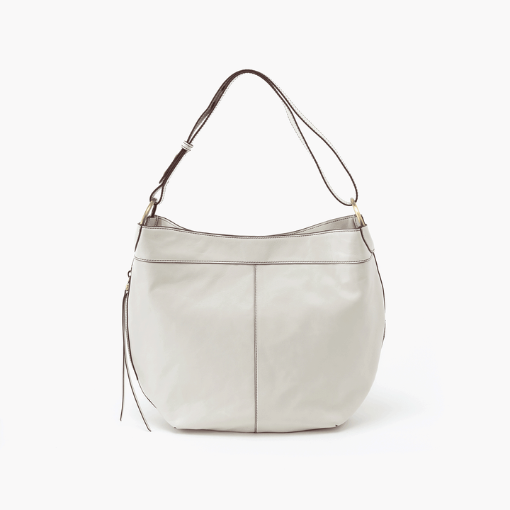 Port White Leather Hobo Style