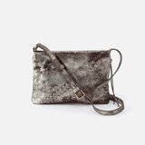 Prairie Silver Leather Crossbody