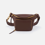 Pulse Brown Leather Belt Bag