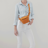 Pulse Butterscotch Leather Belt Bag