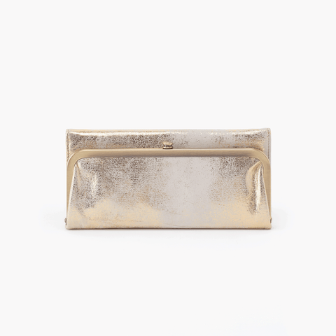 Rachel Metallic Leather Large Wallet