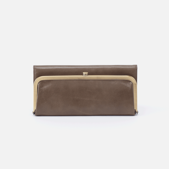 Rachel Grey Leather Large Wallet