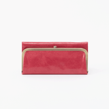 Rachel Pink Leather Large Wallet