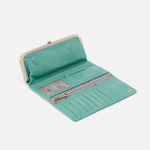 Rachel Seafoam Leather Wallet