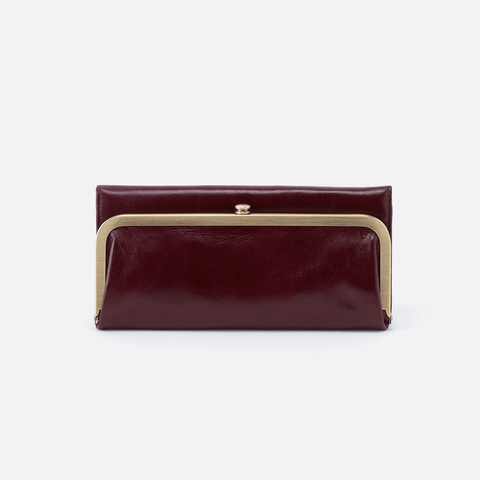 Rachel Purple Leather Wallet