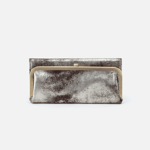 Rachel Silver Leather Wallet