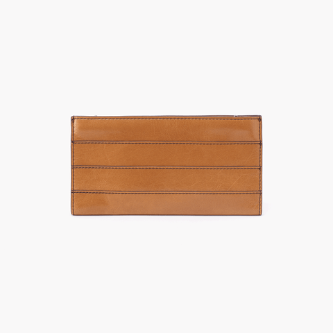 Rail Cognac Brown Leather Large Wallet