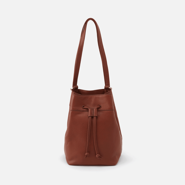 Ramble Toffee Leather Backpack