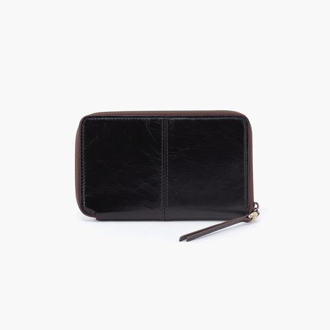 Rave Black Leather Wallet