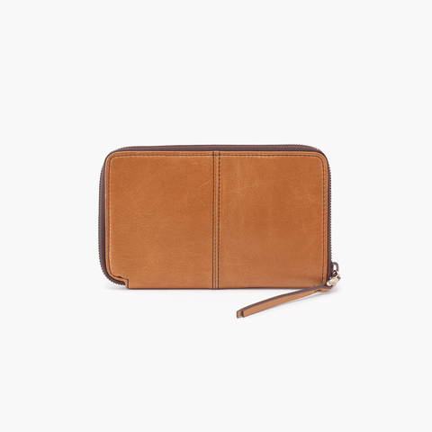 Rave Cognac Brown Leather Wallet