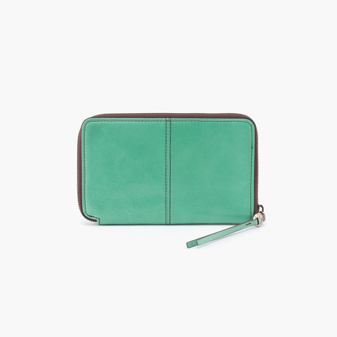 Rave Light Green Leather Wallet