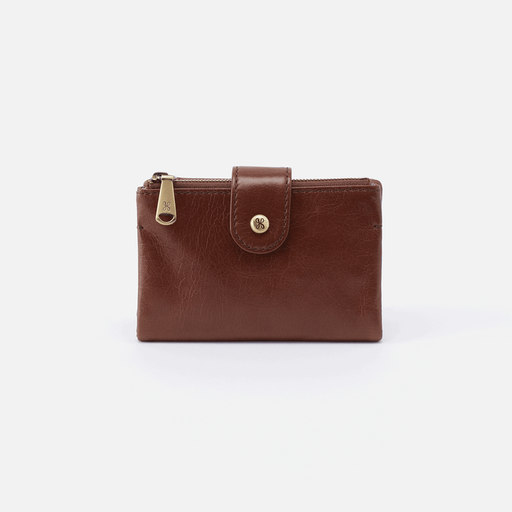 Ray Brown Leather Small Wallet