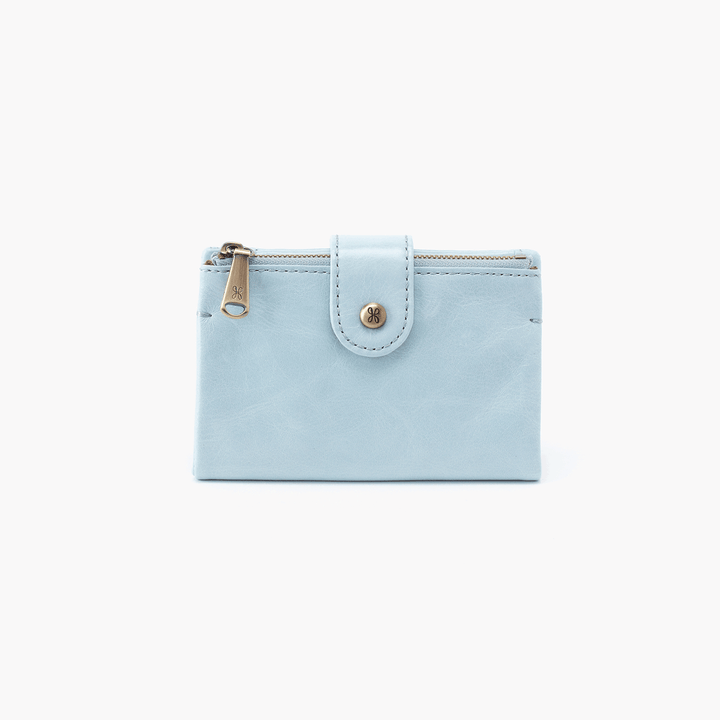 Ray Blue Leather Wallet