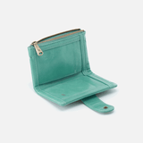 Ray Seafoam Leather Wallet