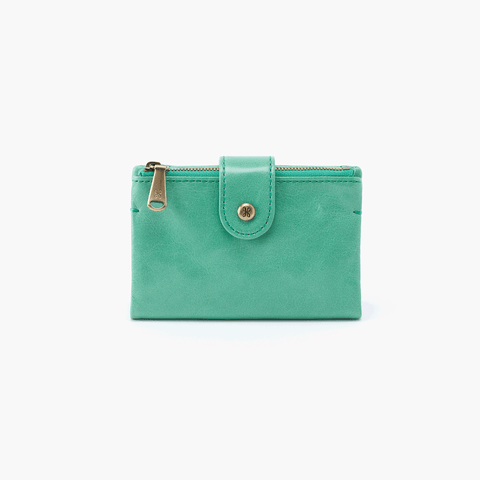 Ray Light Green Leather Wallet
