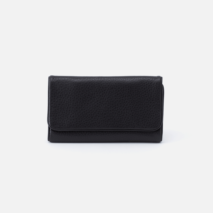 Reed Black Leather Wallet