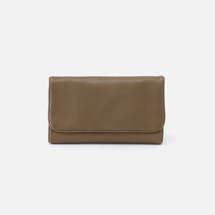 Reed Grey Leather Wallet