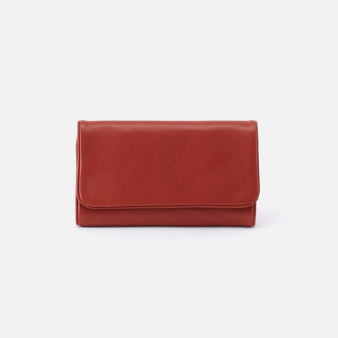Reed Sienna Red Leather Wallet
