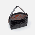 Render Black Leather Shoulder Bag