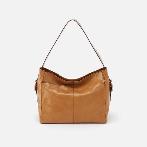 Render Honey Leather Shoulder Bag