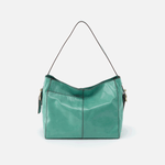 Render Seafoam Leather Shoulder Bag