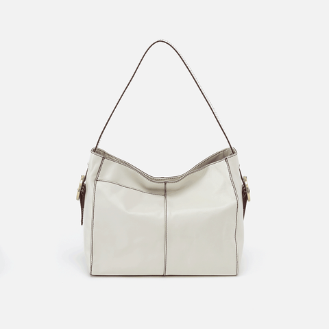Render Latte Leather Shoulder Bag