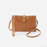 Reveal Honey Leather Crossbody