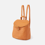 River Butterscotch Leather Backpack