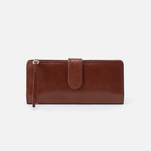 Roman Brown Leather Wallet