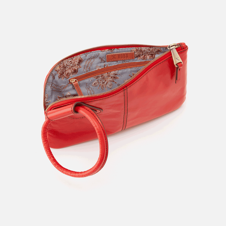 Sable Rio Leather Wristlet