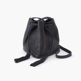 Sander Black Leather Small Crossbody