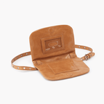 Saunter Cognac Brown Leather Belt Bag