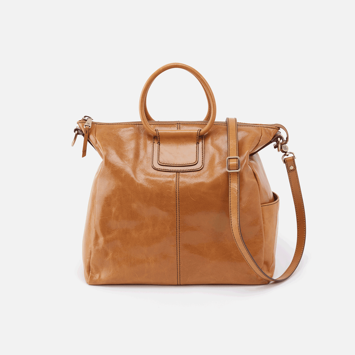 Sheila Cognac Brown Leather Crossbody & Shoulder Bag
