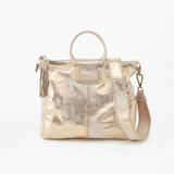 Distressed Gold Sheila Large Satchel  Hobo