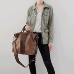 Brass Sheila Large Satchel Hobo
