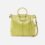 Sheila Lemongrass Leather Crossbody
